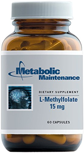 Metabolic Maintenance - L-Methylfolate - 15 mg Active + Bioavailable Folate, 60 Capsules by Metabolic Maintenance