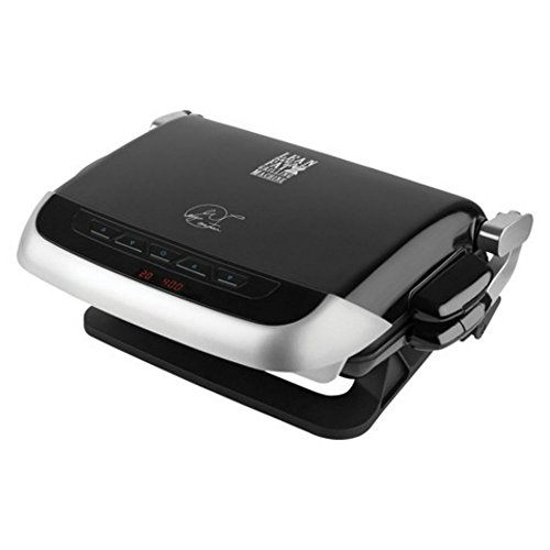 George Foreman 5-Serving Variable Temperature Multi-Plate Grill Review