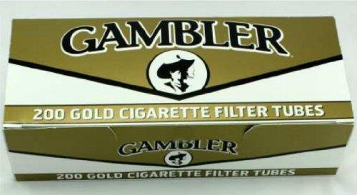 Gambler Light Cigarette Filter Tubes 200ct (Pack of 5)