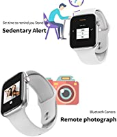RONSHIN W34 Bluetooth Call Smart Watch ECG Heart Rate Monitor Smartwatch for Android iOS Black