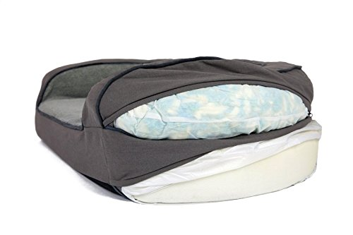 Better World Pets Super Comfort Bolster Dog Bed
