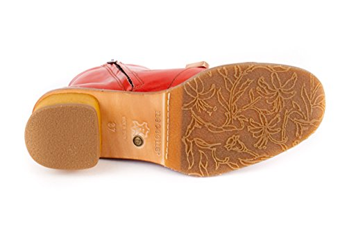 Neosens Damen Stiefeletten Stiefel Rot Gr. 37