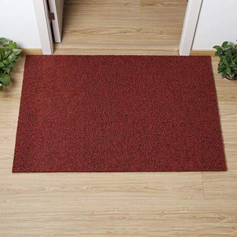 Red wine 60x150cm(24x59inch) Non-Slip Door Mat, Carpet Front Door Carpet for Doorway Stairs Insole Balcony Front Door-Black 60x90cm(24x35inch)