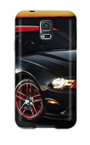 Galaxy S5 Case, Premium Protective Case With Awesome Look - 2012 Ford Mustang Boss Car
