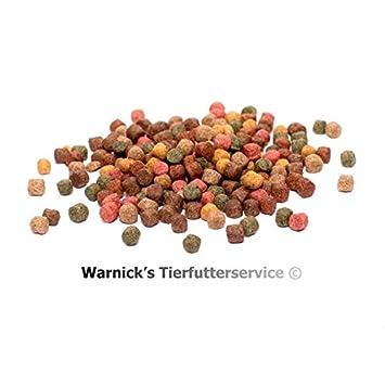 Warnicks Tierfutterservice Koifutter 3mm Spezialfutter 8-Sorten-Mix 5Liter