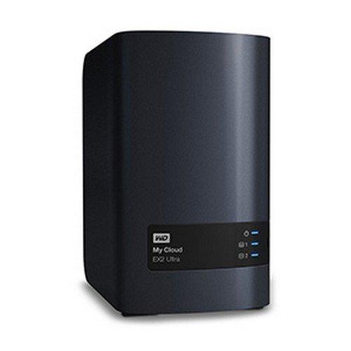 Western Digital 8TB My Cloud EX2 Ultra NAS Festplatte - LAN - WDBVBZ0080JCH-EESN