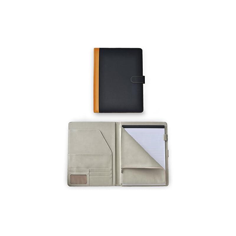 Deluxe Leather Padfolio Portfolio Docume