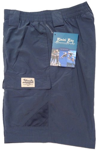 Bimini Bay Outfitters Mens Grand Cayman Nylon Short (2-Pack)