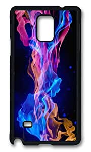 MOKSHOP Adorable flames Hard Case Protective Shell Cell Phone Cover For Samsung Galaxy Note 4 - PCB