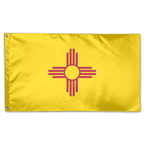 SIRLVLAY New Mexico Flag Family Party Flags 3 X 5 In Indoor&