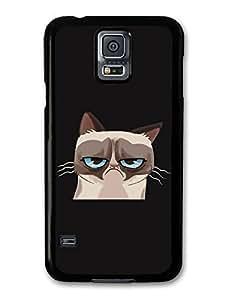 AMAF ? Accessories Grumpy Cat Illustration case for Samsung Galaxy S5