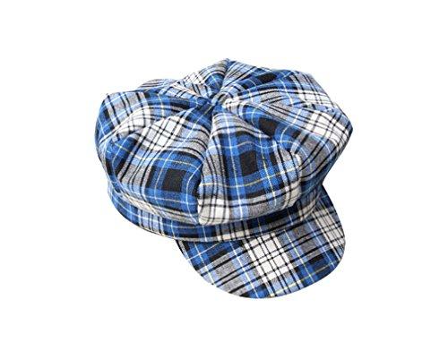 Taille Bonnet Unique Bleu Enfant Pour Carrure Garçon Chapeau Acvip Réglable Couleurs 4 Cap Fille Mode Béret Casquette octogonale 6SaZR