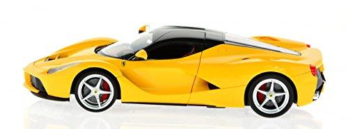 1/14 Scale Rastar Yellow Ferrari La Ferrari 2.4 Ghz Radio Remote Control R/C Model Car RTR w/ Rechargeable - Ferrari Yellow