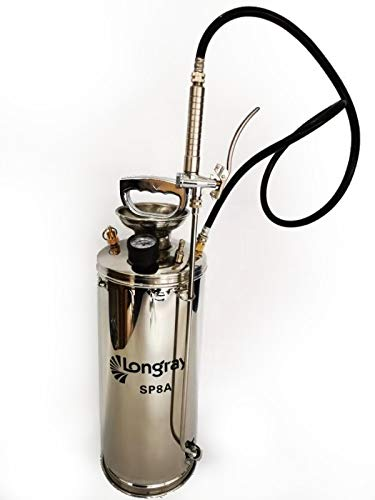 Stainless Steel Hand-Pumped Sprayer (2 Gallon)