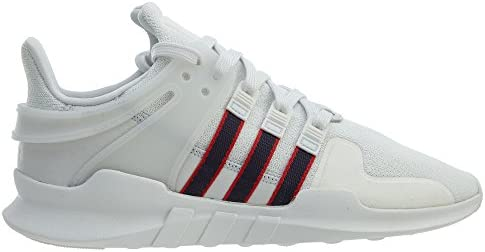 Adidas Zapatos de Soporte de Equipo para Hombre 9.5 Reino Unido Blanco