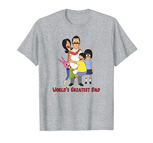 Bob's Burgers World's Greatest Dad T-Shirt