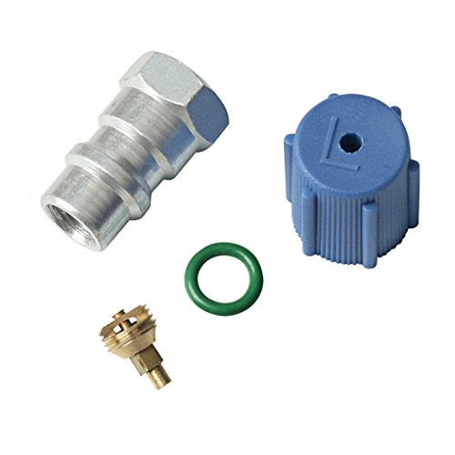 A/C Pro R-12 to R-134a 7/16'' Low Side Port Retrofit Valve Car Internal Accessories by WeiLiQi (Image #3)