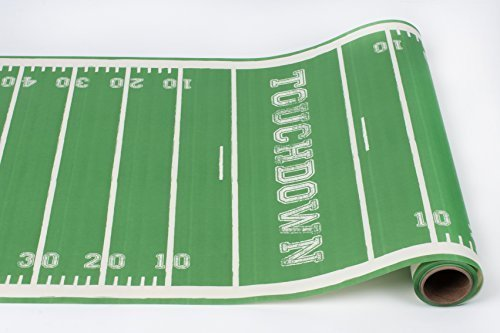 Touchdown Paper Table Runner 25 Foot American Made ()