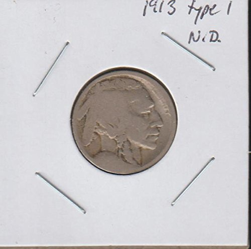 1913 D Indian Head or Buffalo (1913-1938) Type 1 Nickel About Good