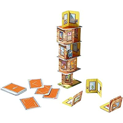 HABA Rhino Hero A Heroic Stacking Card Game for Ages 5 and Up - Triple Award Winner: Toys & Games