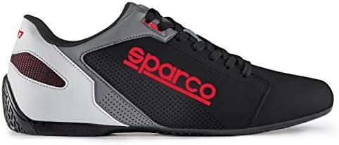 Sparco S00126336NRRS Zapatillas SL-17 Talla 36 Negro Rojo