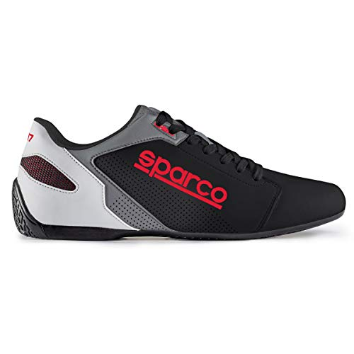 Sparco SL-17 Shoes 001263 (Size: 46, Black/Red)