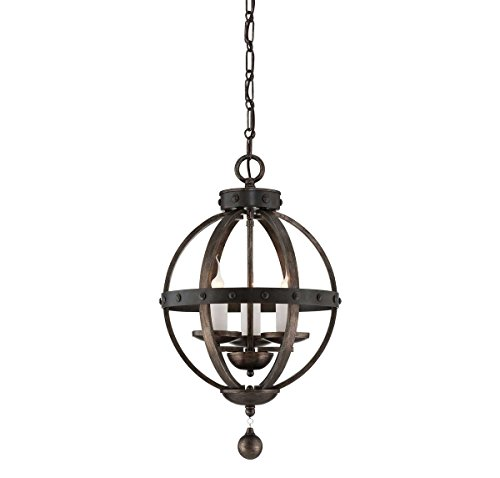 Savoy House 7-9541-3-196 Alsace 3-Light Pendant in Reclaimed Wood