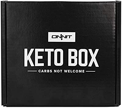 Onnit Keto Box - Low Carb, Keto-Friendly Snacks and Supplements from Onnit, Primal Kitchen, Kettle & Fire, and more