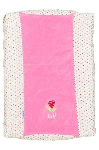 Tiseco Lief Herzen Wash Tisch Schutzhülle Für Mädchen, 55 X 75 Cm, Pink