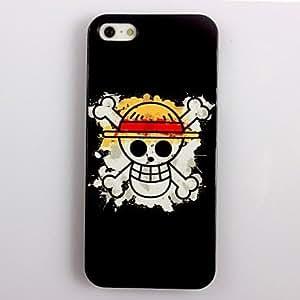 JJE Cartoon Skull Design Aluminum Hard Case for iPhone 4/4S