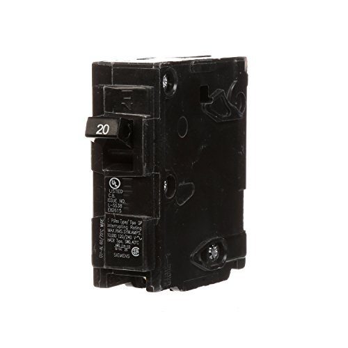 Siemens 20 Amp Circuit Breaker - Q120 20-Amp Single Pole Type QP Circuit Breaker