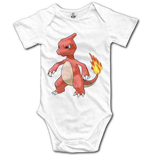 Price comparison product image Charmeleon Fire Pokemon Unisex Baby Onesies Clothes