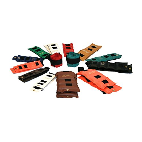 Cuff Rehabilitation Ankle And Wrist Weight 24 Piece Set - 2 Ea. .25, .5, .75, 1, 1.5, 2, 2.5, 3, 4, 5, 7.5, 10 by The Cuff