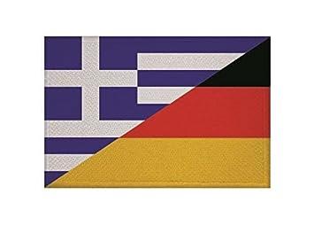 U24 Aufn/äher Oman Fahne Flagge Aufb/ügler Patch 9 x 6 cm