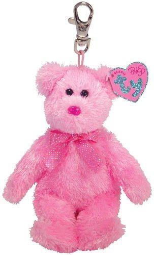 Ty Dazzler - Bear Keychain -