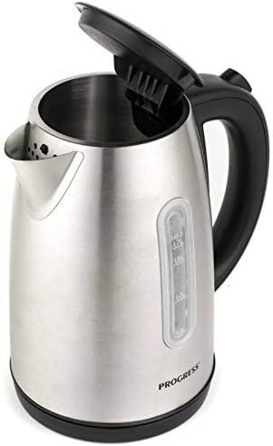 Progress® EK3492SSP 3000 W Classica Kettle | Auto Shut Off | 360° Swivel Base | Strix Controller | 1.7 L | Stainless Steel