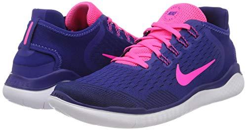 Blue 001 Nike Free deep Donna Scarpe pink 2018 obsidian Blast Multicolore Running Rn Royal wzCqT