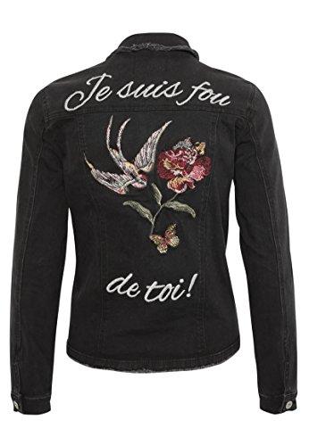 Rock Angel Mujeres Chaquetas / Chaqueta de entretiempo Nia Embroideries: Amazon.es: Ropa y accesorios