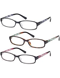 GAMMA RAY Readers 3 Pack of Thin and Elegant Womens...
