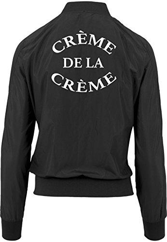 La Creme Bomber Certified Girls De Freak Chaqueta Negro FPR5qwO