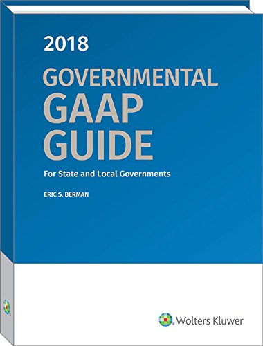 Governmental GAAP Guide, 2018
