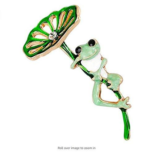 Tcplyn Enamel Lapel Pin Frog Bro...