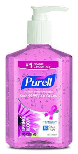 ( PURELL Spring Bloom Instant Hand Sanitizer, 8oz Pump Bottle,)