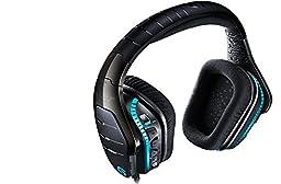 Logitech G633 Artemis Spectrum – RGB 7.1 Surround Sound Gaming Headset – Multiple Platform Compatibility – Personal Customization – Exceptional Audio Performance – Black