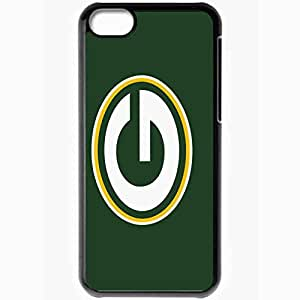 Personalized iPhone 5C Cell phone Case/Cover Skin 1009 green bay packers 0 Black