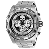 Men's 'Marvel' Quartz Stainless Steel Watch, Color:Silver-Toned (Model: 26863)