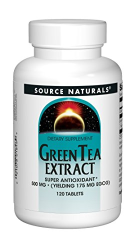 500 Mg Green Tea (Green Tea Extract 500 mg 120 Tablet (Pack of 2))