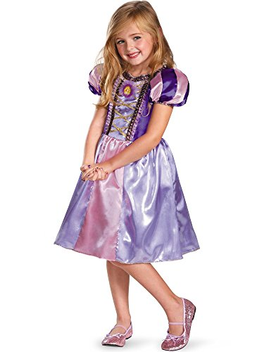 Disguise Disney's Tangled Rapunzel Sparkle Classic Girls Costume, 4-6X -