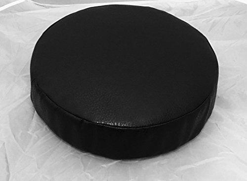 Cushion Upholstery barstool leather wrapped