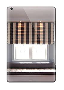 New Fashionable ZippyDoritEduard EnIjlQq8299EdxkD Cover Case Specially Made For Ipad Mini/mini 2(window Seat In Child8217s Bedroom With Brown And White Striped Shade)
